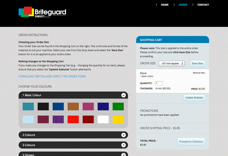 Briteguard Web Design