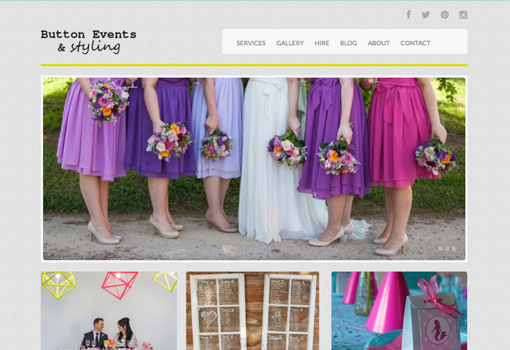 Button Events and Styling Web Design