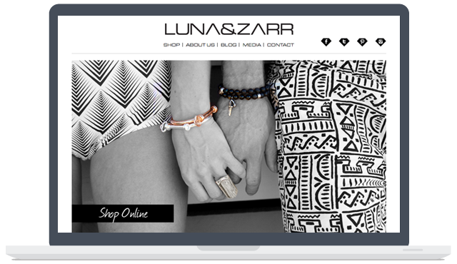 Image from Luna & Zarr Web Development
