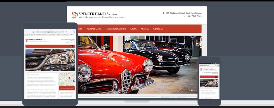 Spencer Panels Galway Website Design and Development