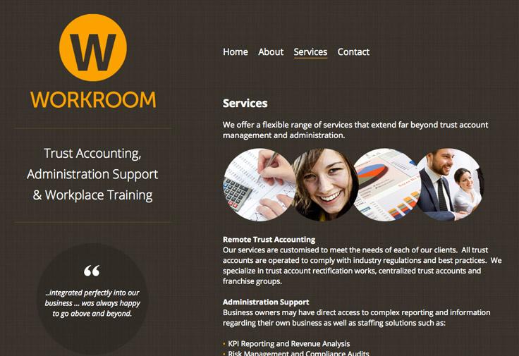 Workroom Web Design