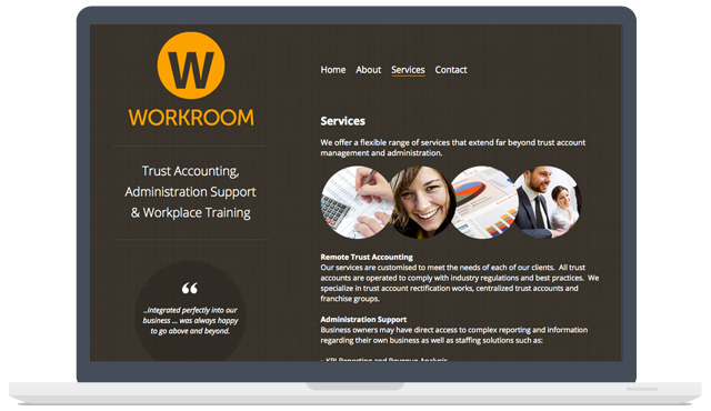 Workroom Web Development